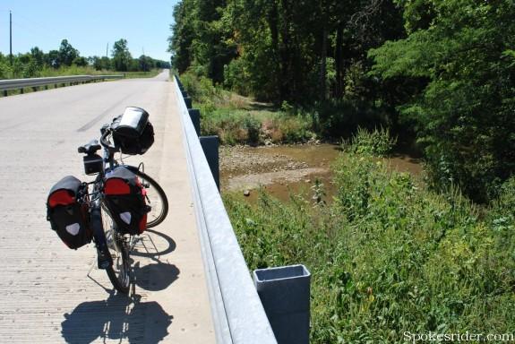 Bridge over Martindale Creek on Jacksonburg Road