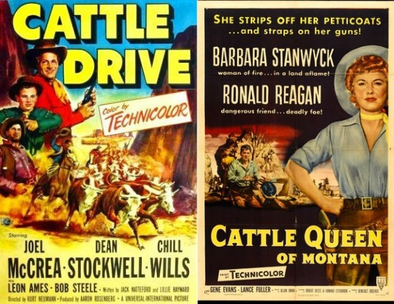 Cattle Drive movie posters